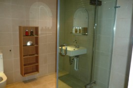 Glebe Mansions Flat 1 shower room